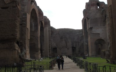 The Baths of Caracalla, Rome