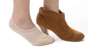 Bam & bü Women's Premium Bamboo No Show Casual Socks