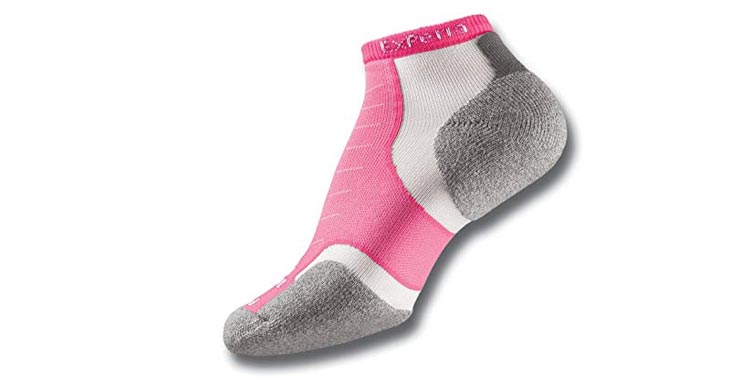 Thorlos Experia XCCU Thin Cushion Running Low Cut Sock