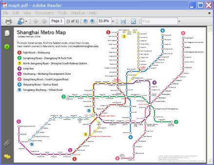 Printable Shanghai Subway Map.Print Or Download Your Shanghai Metro Map Pdf The Explore Blog