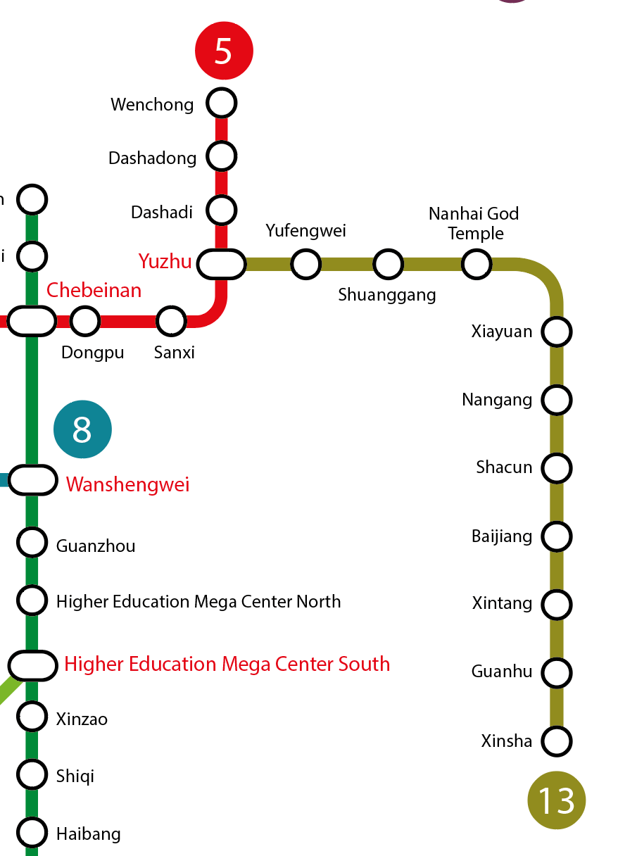 Beijing Subway Map 2018 Pdf.3 New Lines Open In Guangzhou For 2018 The Explore Blog