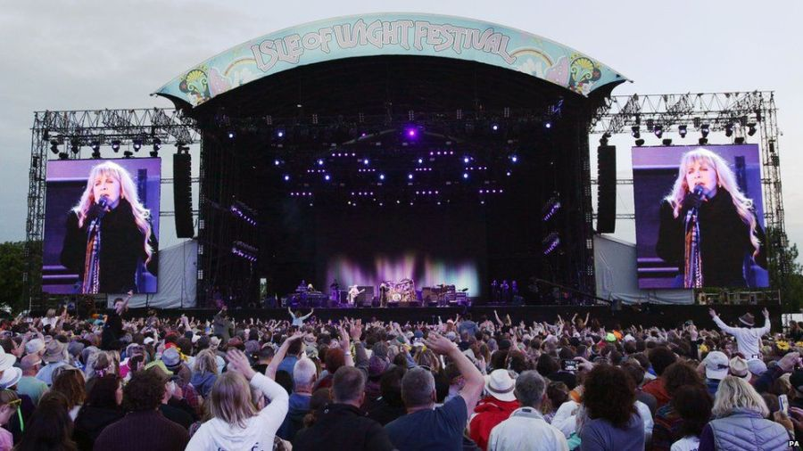 Isle-of-Wight Festival | Photo Source : bbc.co.uk