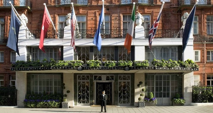 The Claridges London