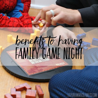 Benefits of family game night & tips for raising game loving kids