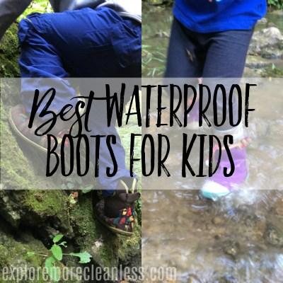 Best Kids Waterproof Boots for Fall