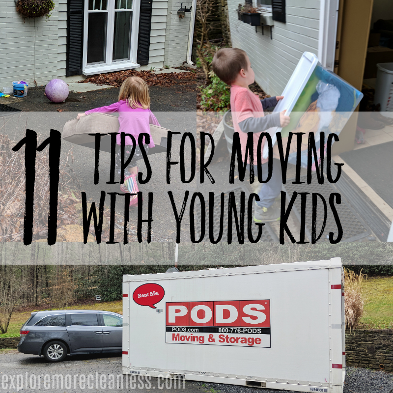 Tips for moving your family to another state