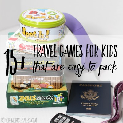 17+ travel games for kids that are easy to pack