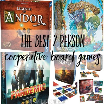 The best 2 player cooperative board games