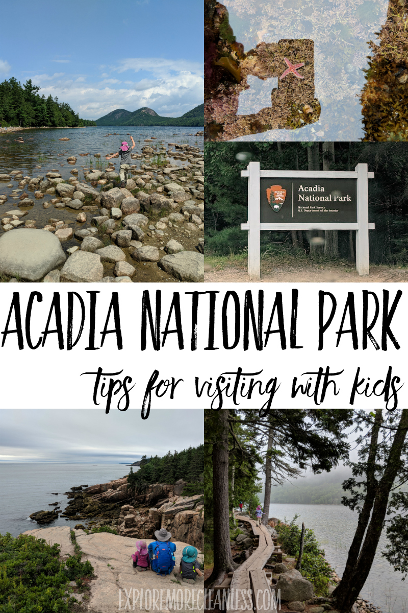 acadia national park trip itinerary