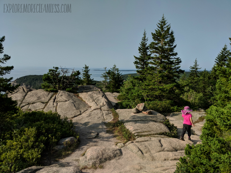 cadillac cliffs gorham mountain summit kids acadia