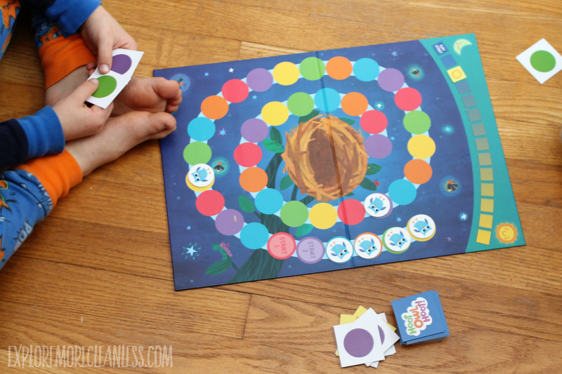 color board game for kids