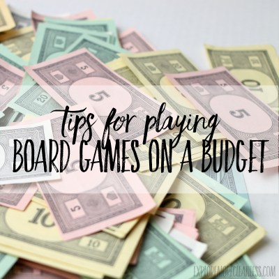 The secrets to playing board games on a budget
