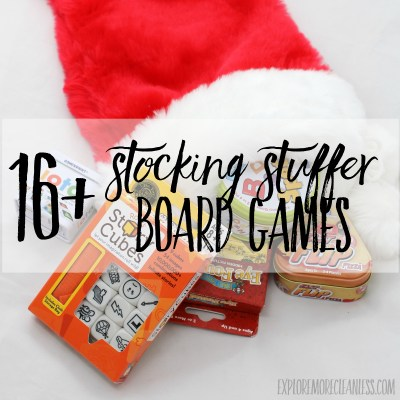 16+ best stocking stuffer board games for kids