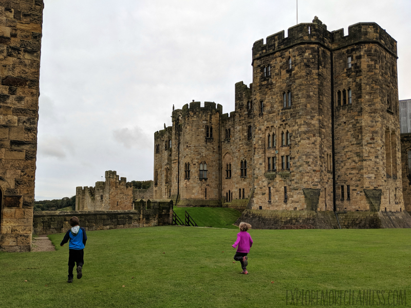 castles for kids northumberland
