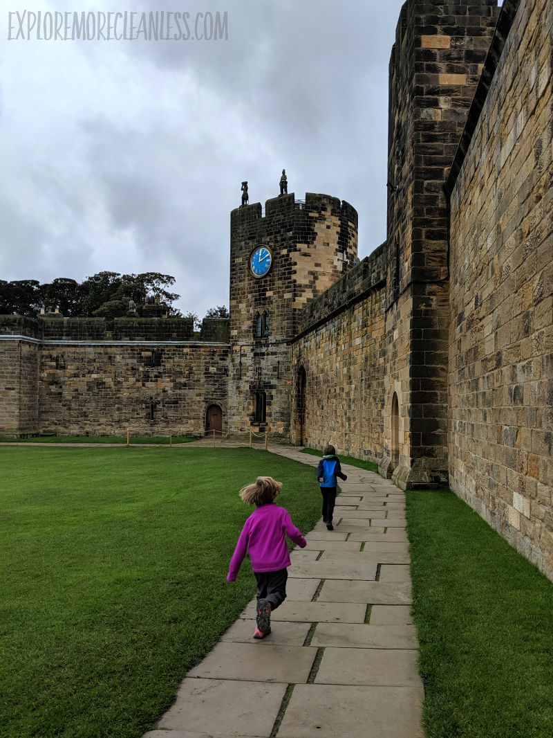 kids castles in england