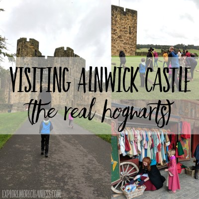 Visiting Alnwick Castle with kids – the harry potter castle in real life