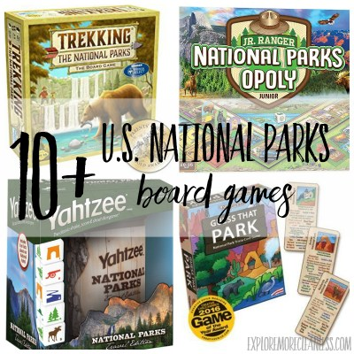 10+ national parks board game options