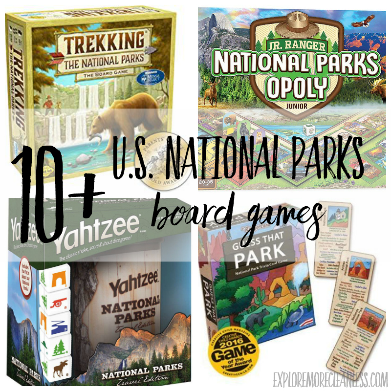 national park board games