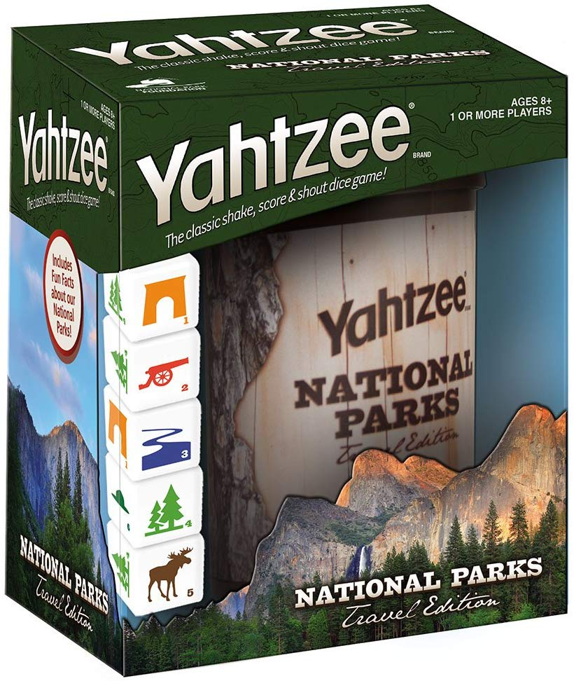 yahtzee national parks version