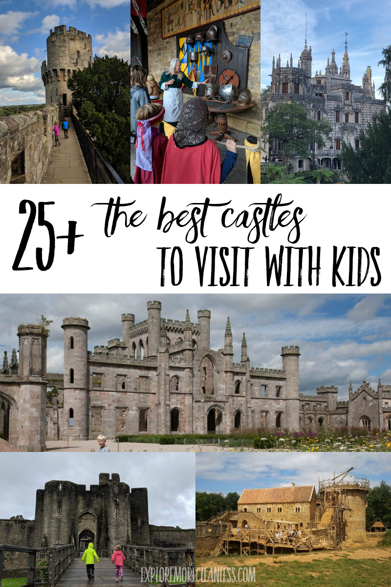 kid friendly castles