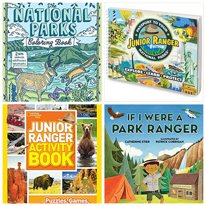 junior ranger books kids