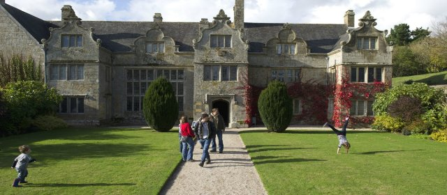 Trerice House 10 minutes walk from The Granary Cottage
