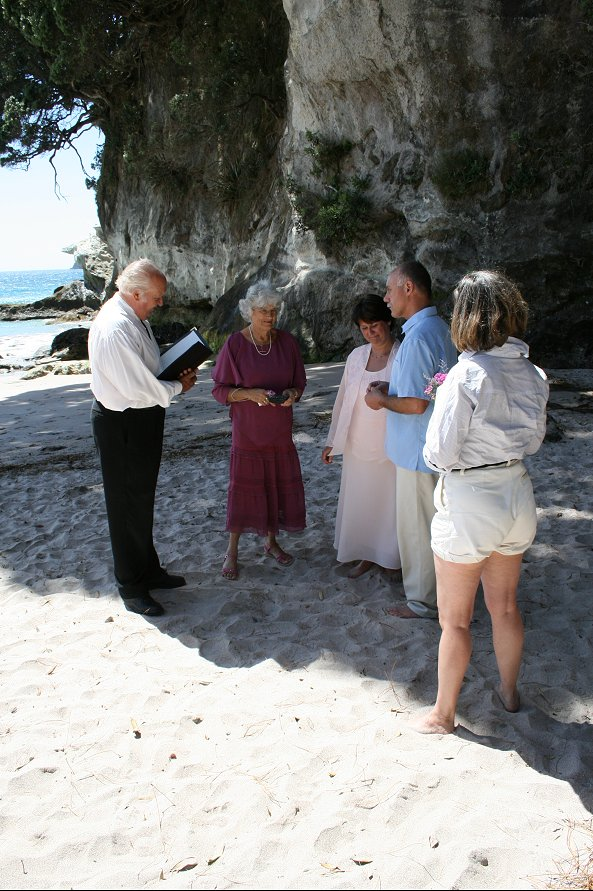 Beach Wedding Zealand