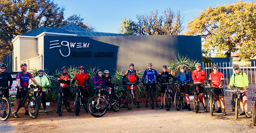 Conquer For Hope - Parys to Clarens by mountain bike