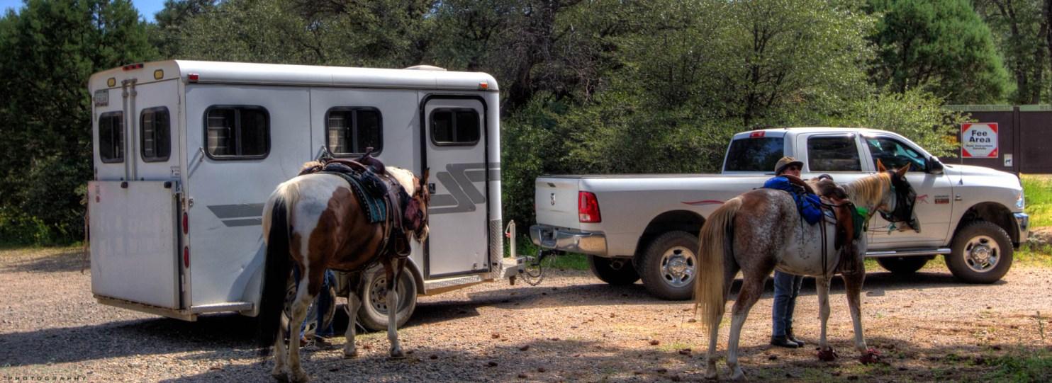 Horseback riding Granite Basin Recreation Area Prescott AZ