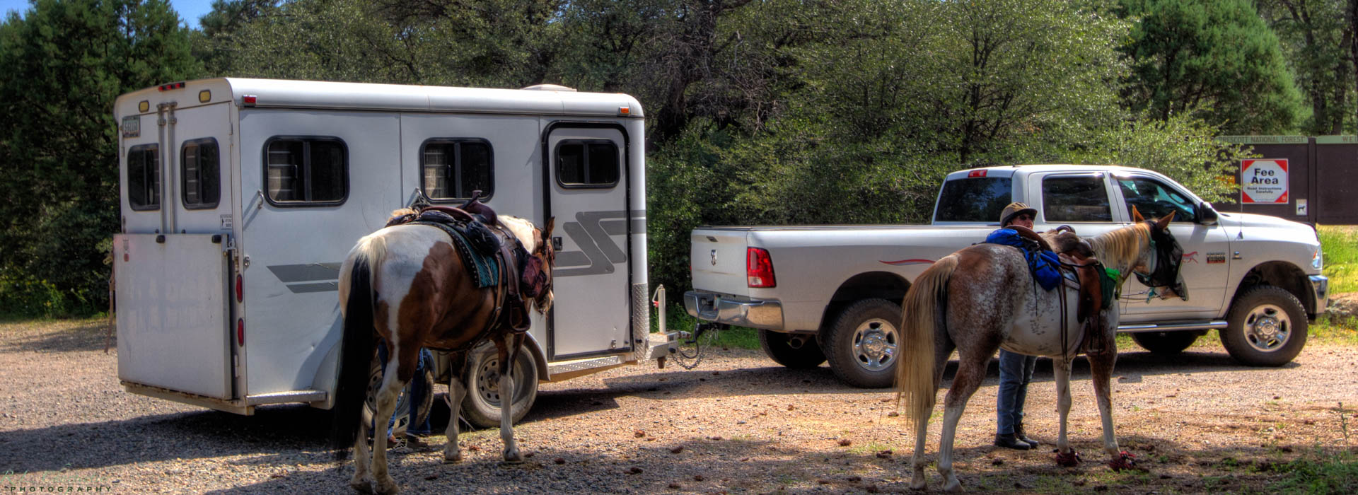 Horseback riding Granite Basin Recreation Area Prescott AZ