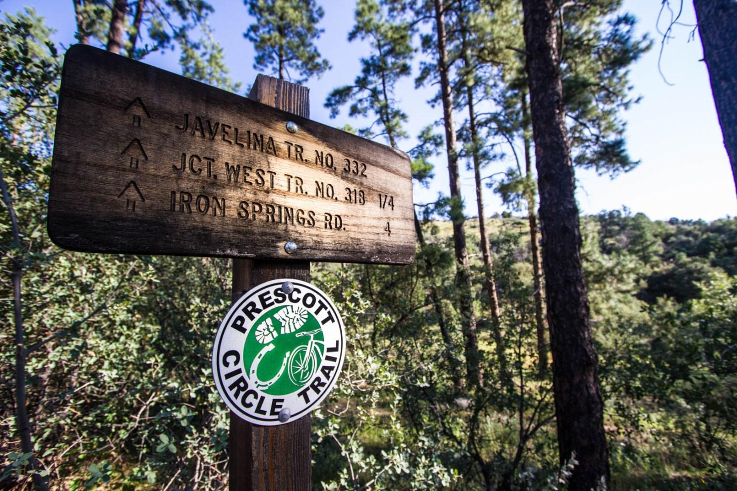 Prescott Arizona Recreation hiking trails mountain biking running outdoors