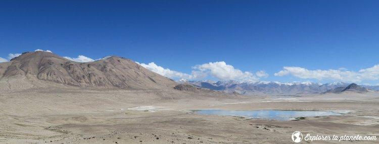 Route pour se rendre à Bulunkul au Tadjikistan