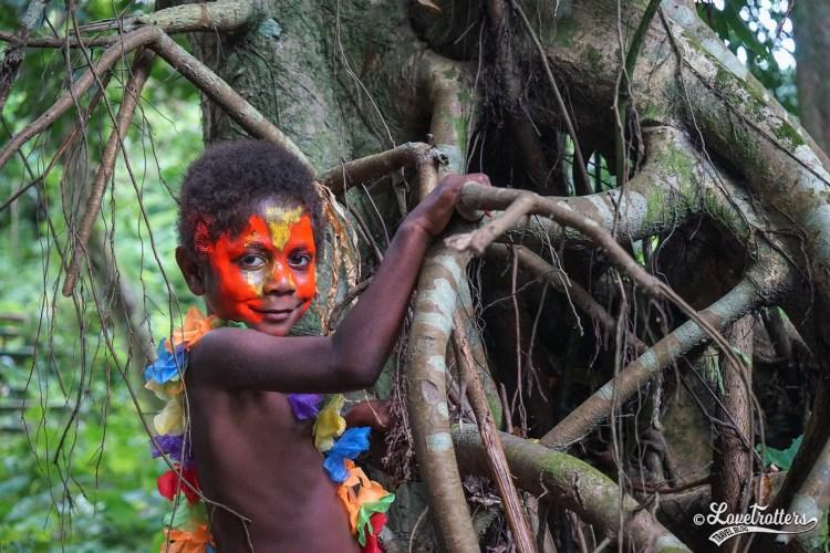 Habitant de Tanna au Vanuatu destinations en dehors des sentiers battus