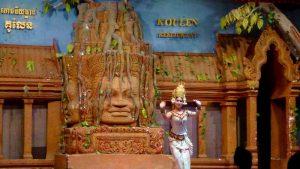 Cambodian Dancer Siem Reap Cambodia 2017