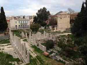 Roman Forum Athens, Greece