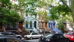 Street view of New York