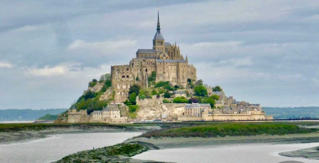 Le Mont Saint Michel Abbey Lower Normandy, in the department of Manche, France