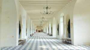 Château de Chenonceau castle great hall France