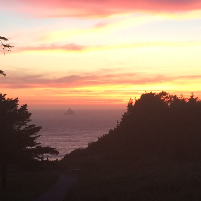 Ecola_State_Park_Sunset