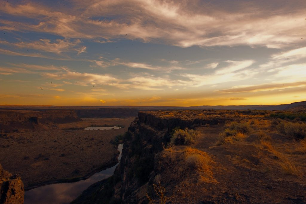 Dry Falls Washington
