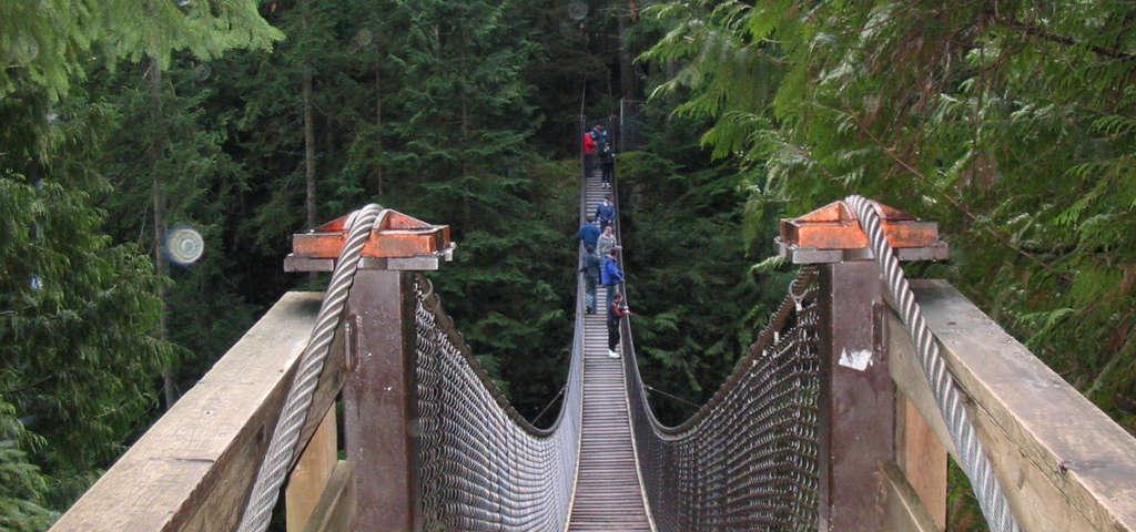 Lynn Canyon Bridge