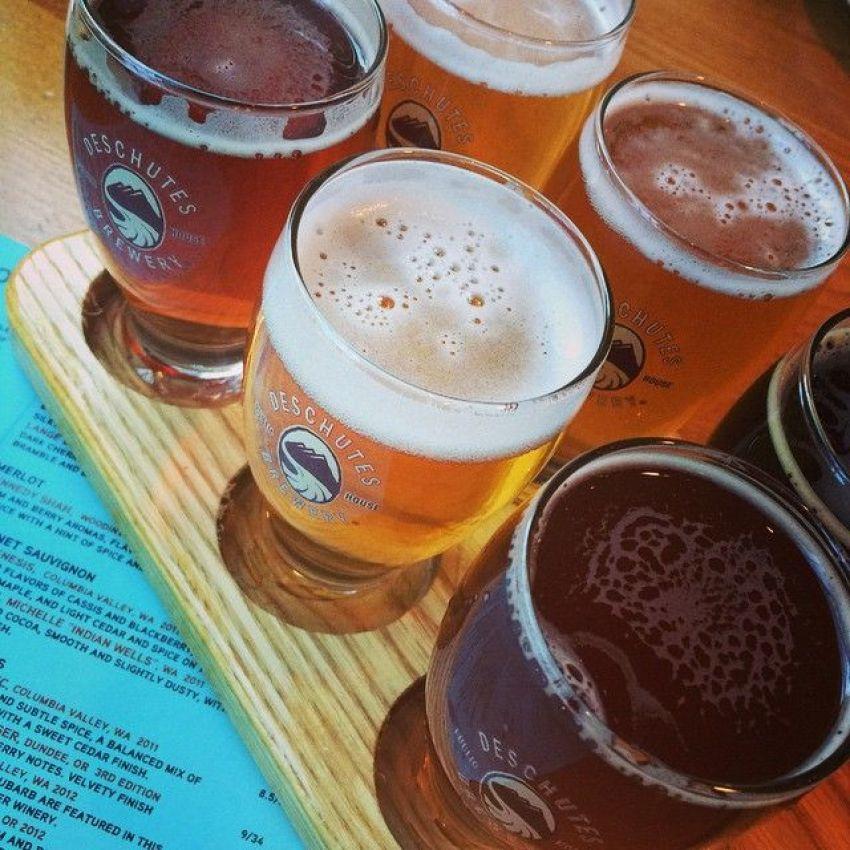 Beery Tasting at Deschutes