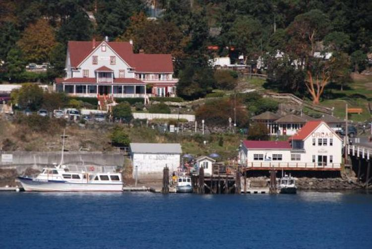 Orcas Island Ferry Landing