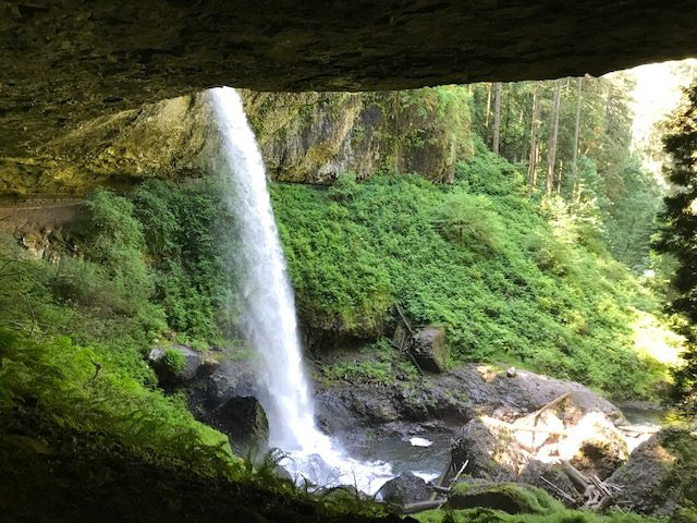 Silver Falls State Park North Falls