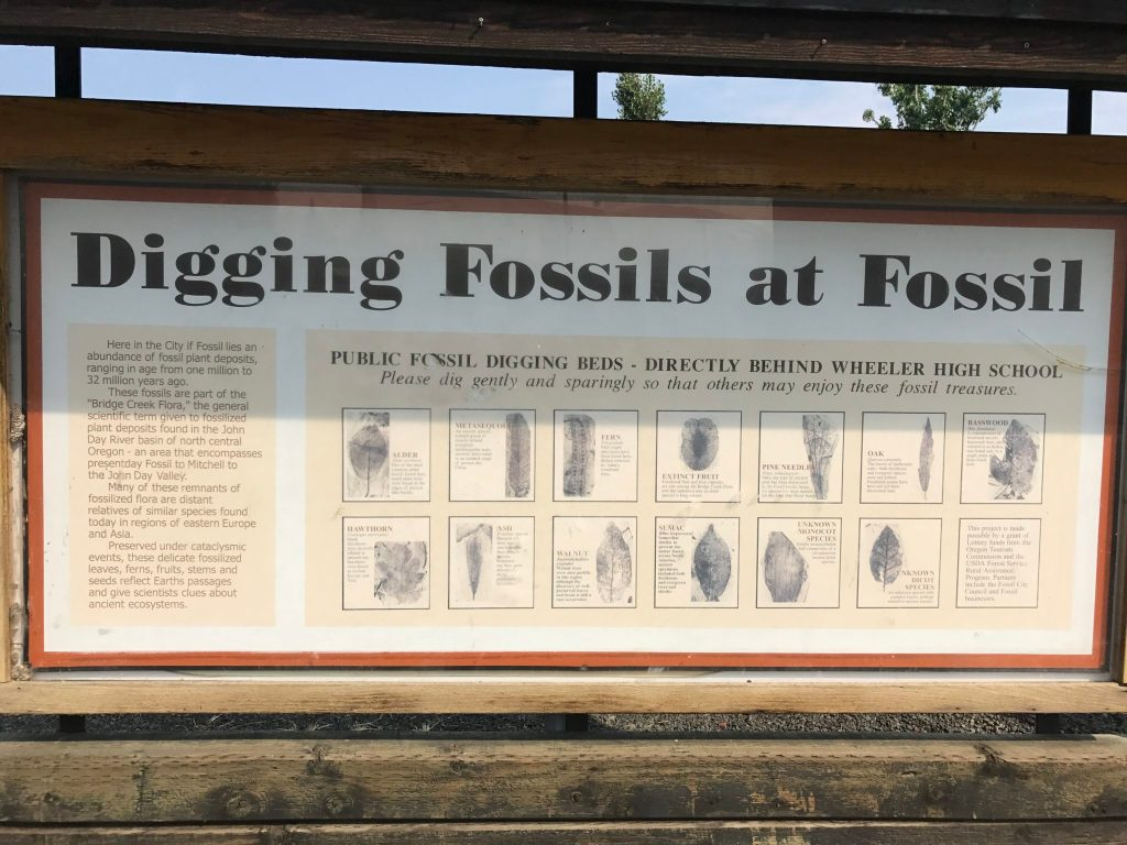Fossil, Oregon