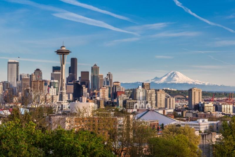 Seattle Skyline from Queen Anne
