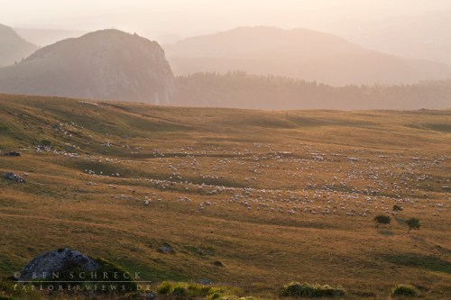 Sundown in the Massif Central