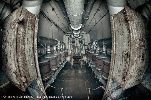 Maginot Line Decontamination Room
