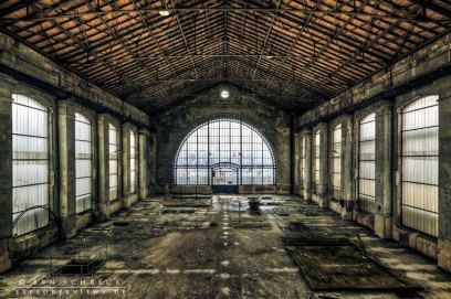 Abandoned Industry Machine Hall