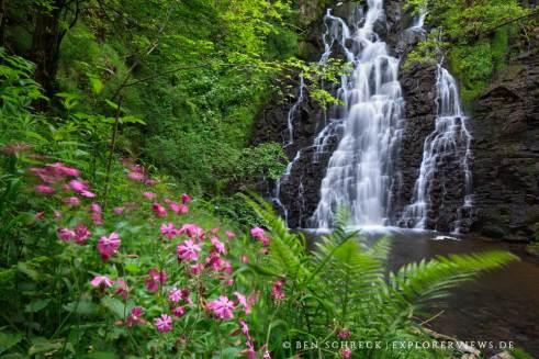 Landschaftsfotografie Wasserfall Fotos aus der Auvergne 2420
